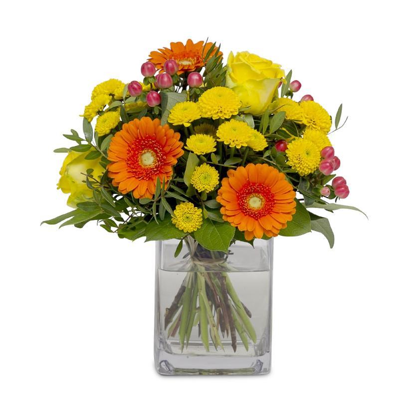 Bouquet de fleurs Happy Feelings