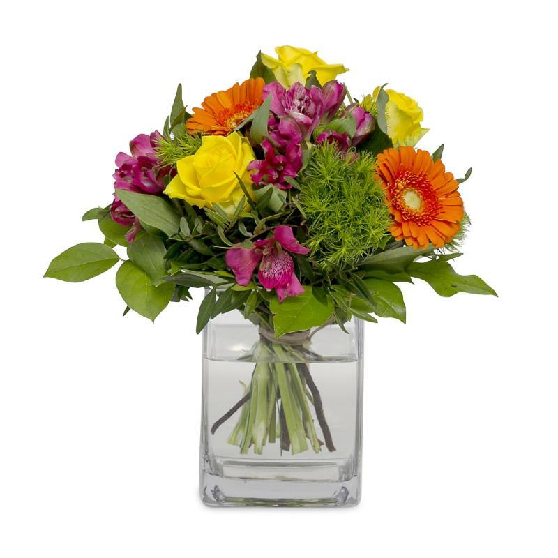 Bouquet de fleurs Happy flower mail