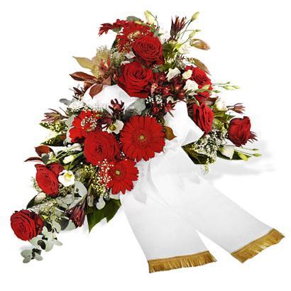 Bouquet de fleurs Sincere condolences
