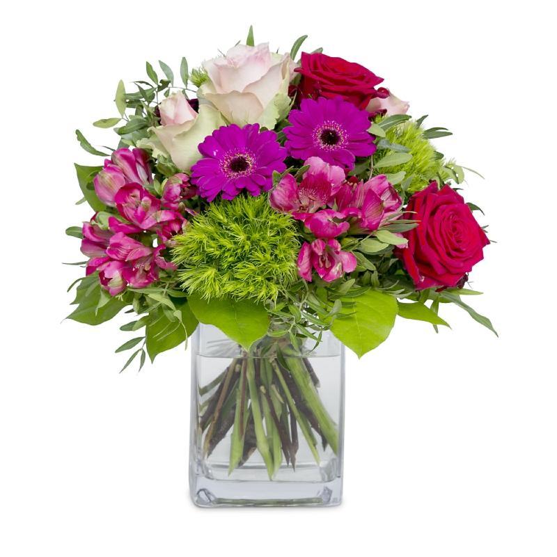 Bouquet de fleurs A charming hello