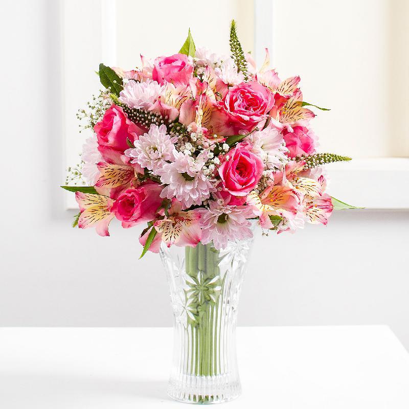 Bouquet de fleurs Pink Tenderness