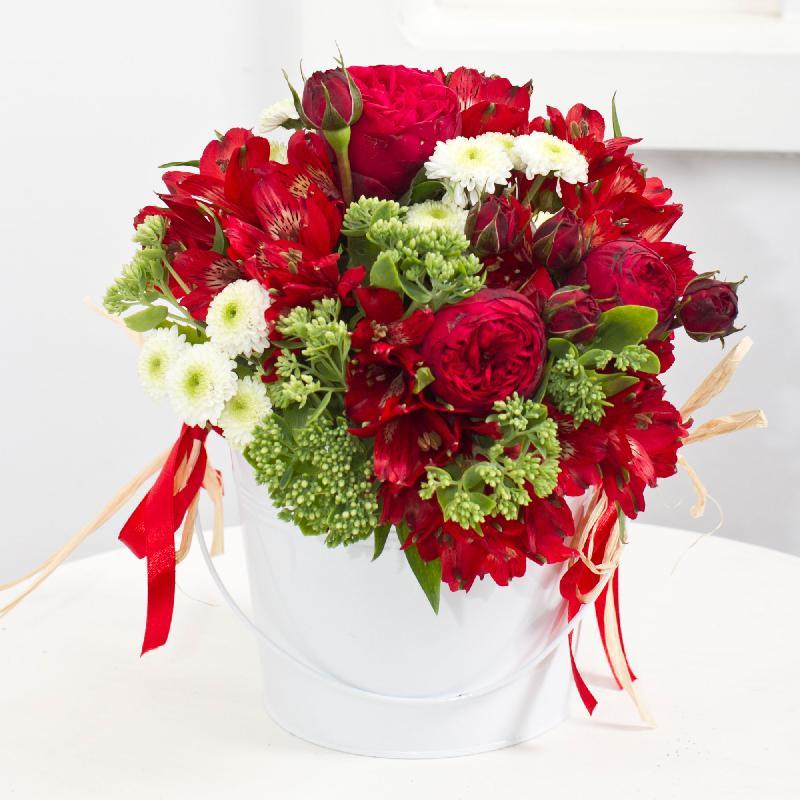 """Bouquet de fleurs """"Red Dream"""""""