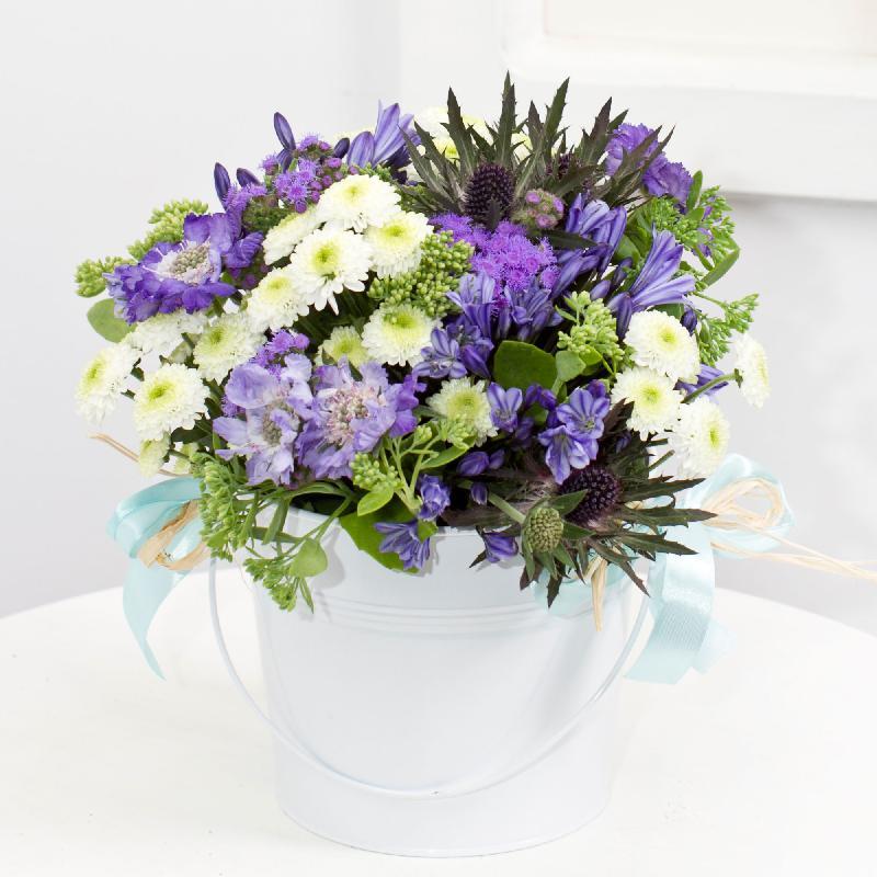 """Bouquet de fleurs """"Blue Dream"""""""