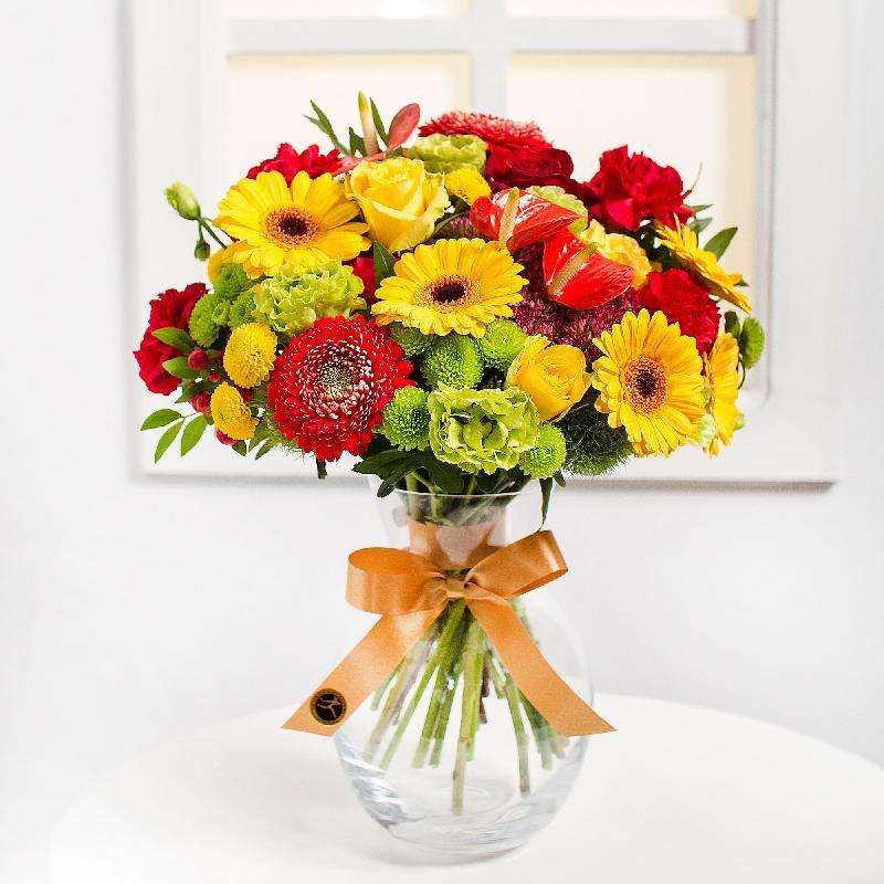 Bouquet de fleurs Congratulations
