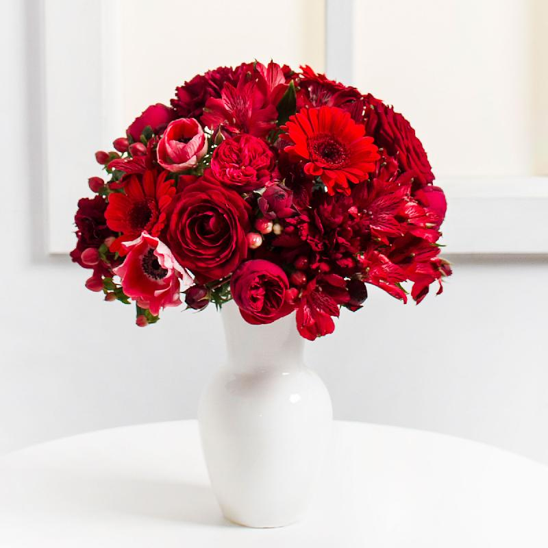 Bouquet de fleurs Red Harmony