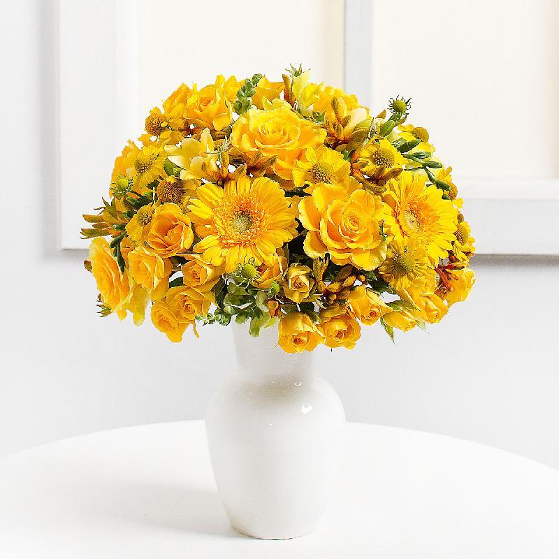 Bouquet de fleurs Yellow Harmony