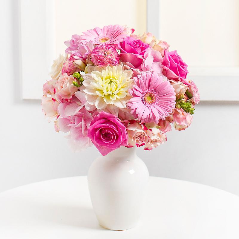 Bouquet de fleurs Pink Harmony