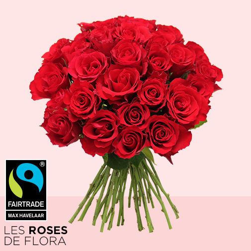 Bouquet de roses Brassée Passion