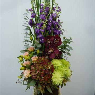 Bouquet de fleurs Arrangement of Cut Flowers multicoloured