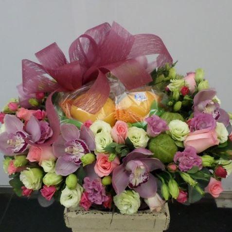 Bouquet de fleurs Flowers and Fruits Arrangement