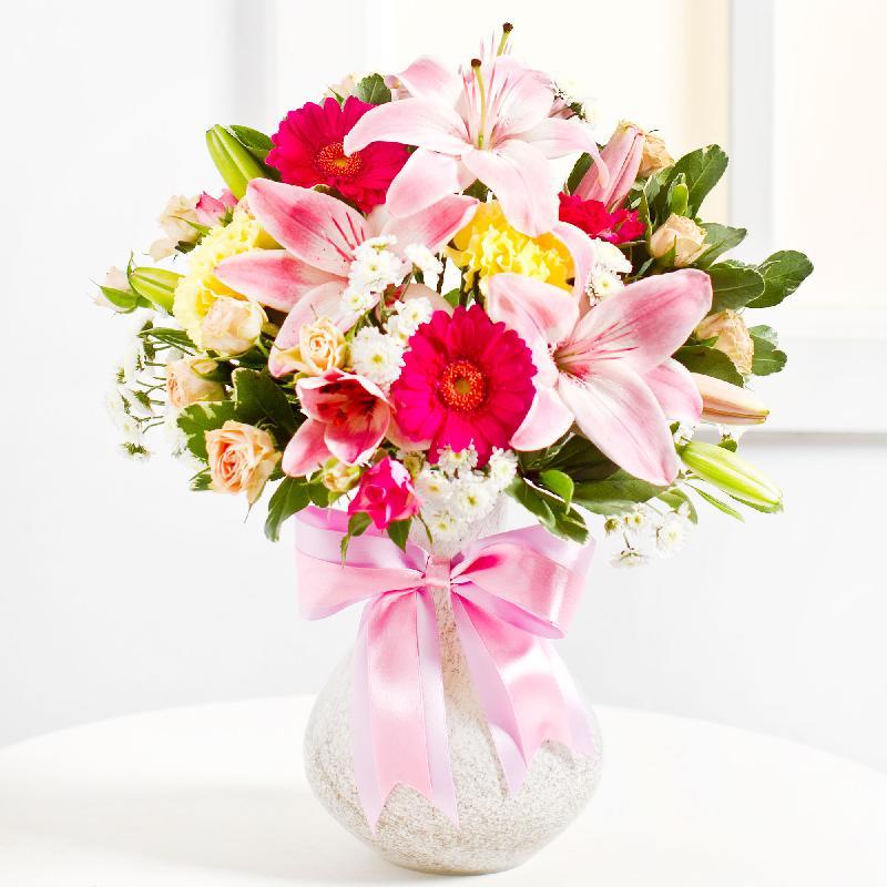 Bouquet de fleurs Surprise Bouquet in Pink colours