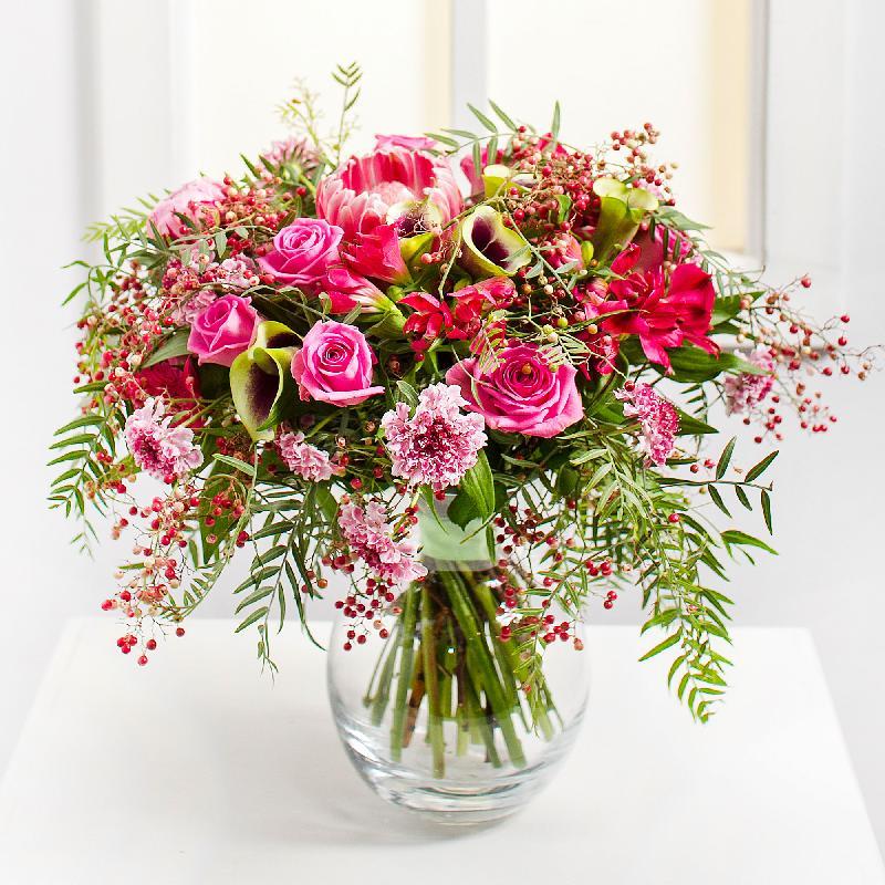 Bouquet de fleurs Delicate Flavor