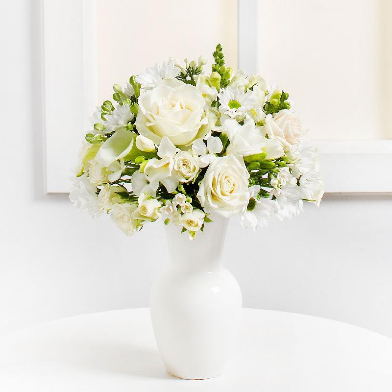 Bouquet de fleurs White Harmony