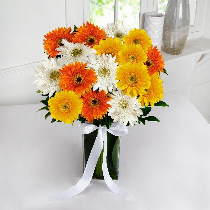 Bouquet de fleurs Blooming Gerberas