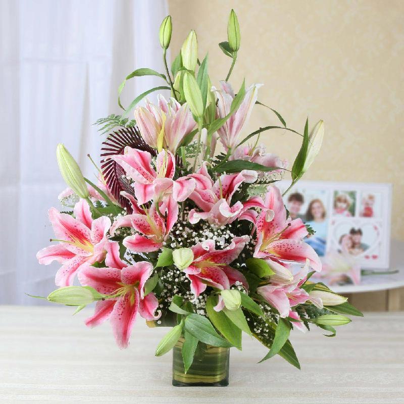 Bouquet de fleurs Lively Lilies