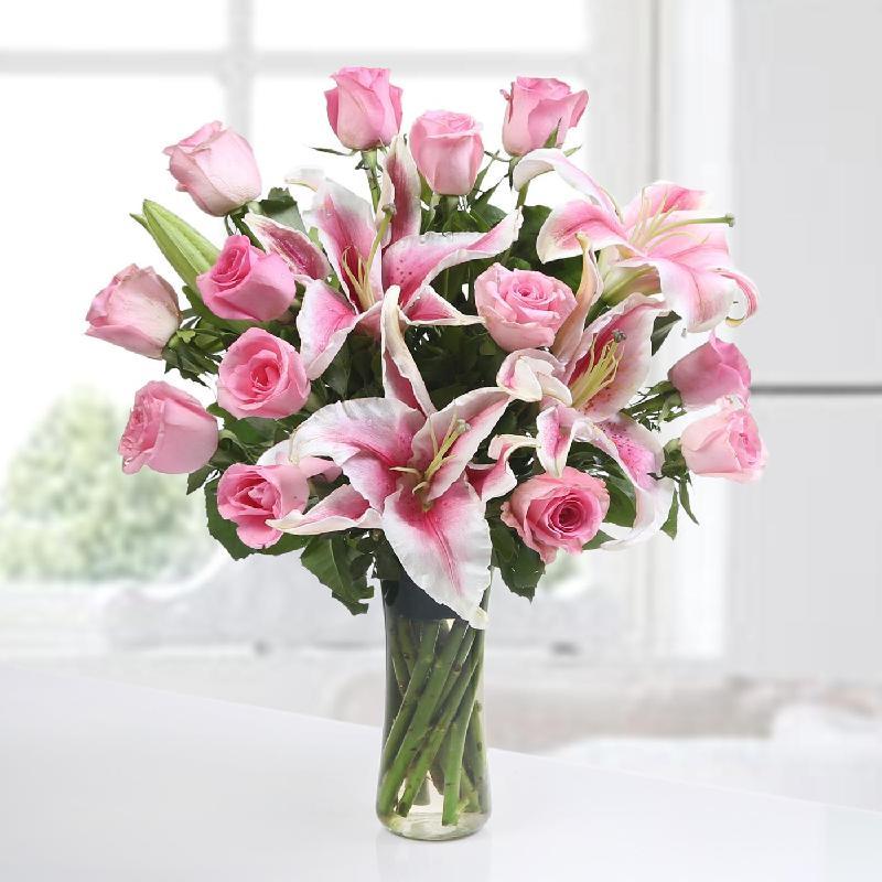 Bouquet de fleurs PINK INDULGENCE