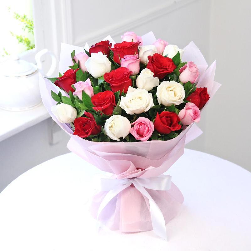 Bouquet de fleurs ELEGANT ROSES BOUQUET