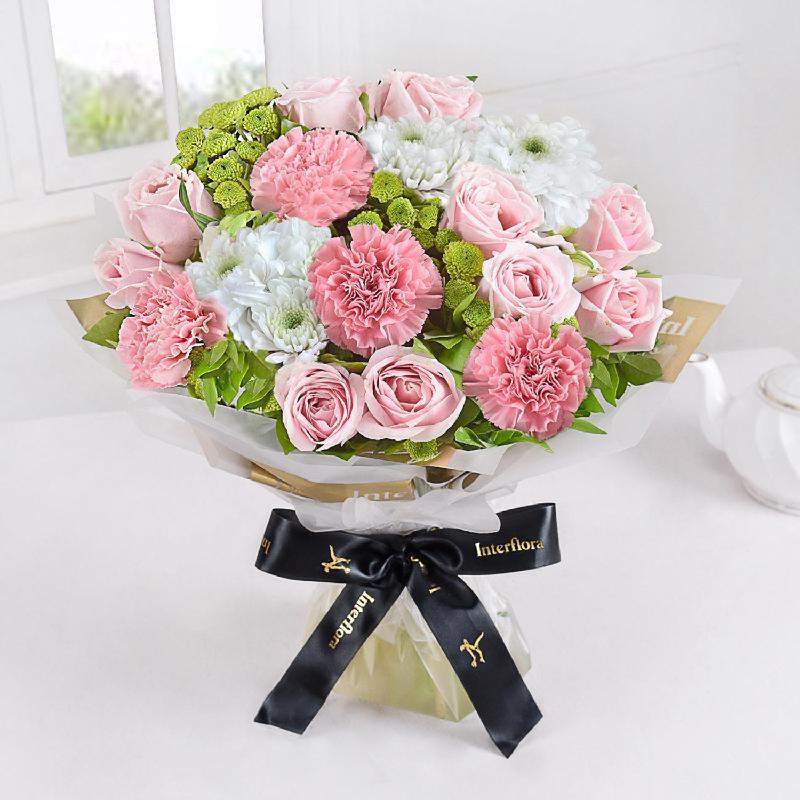 Bouquet de fleurs Pastel Bloom