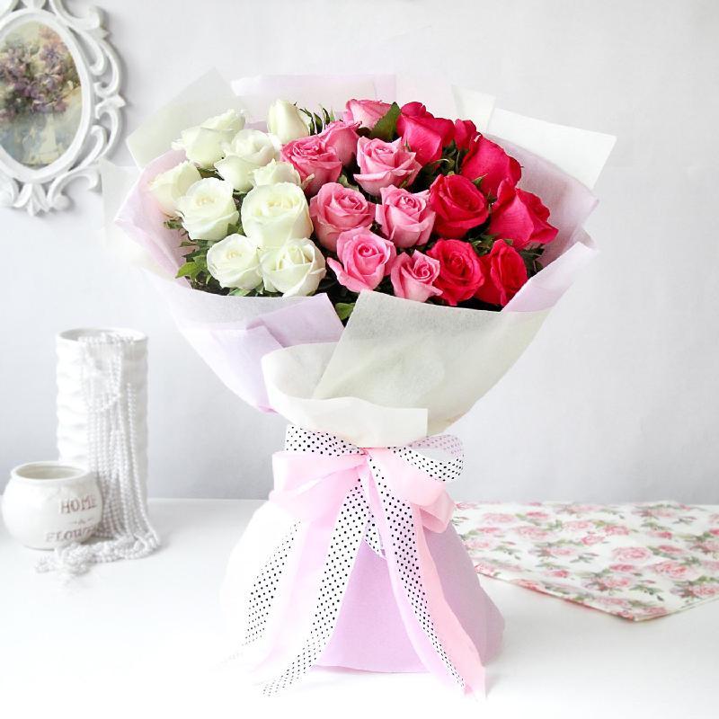 Bouquet de fleurs Bouquet of Ombre Roses