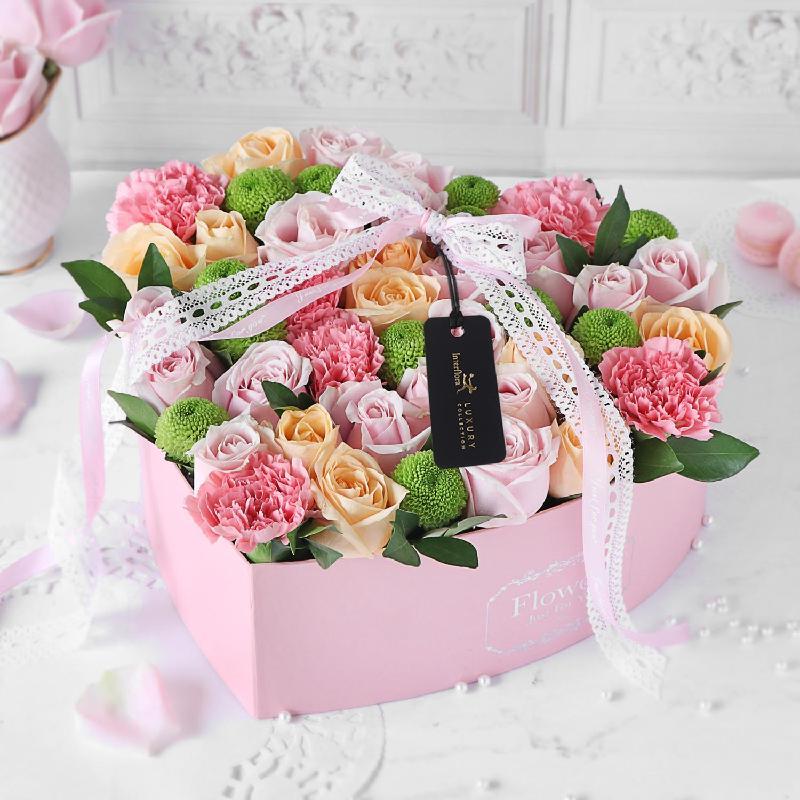 Bouquet de fleurs Sweet surrender Flower Box