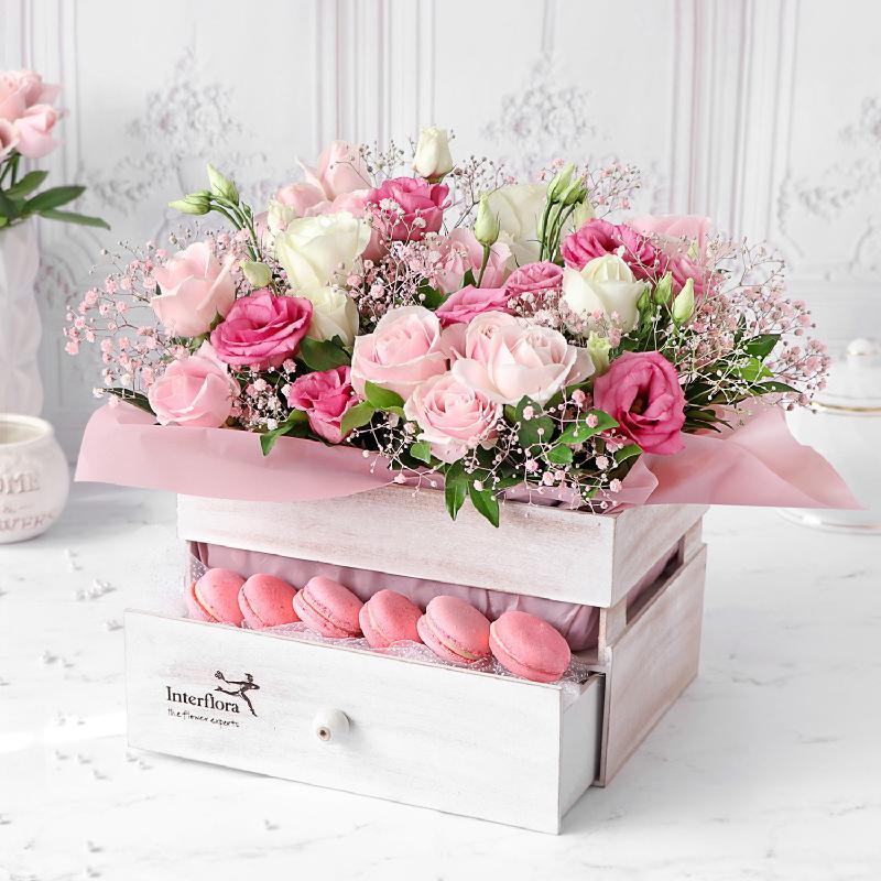 Bouquet de fleurs Feelings of Love Gift Hamper