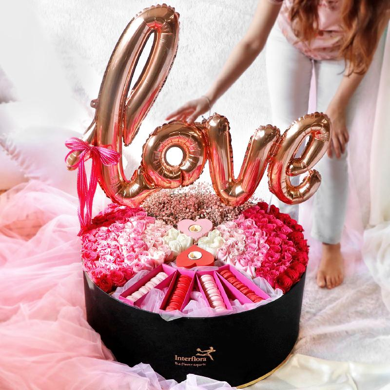 Bouquet de fleurs The Epic Love Hamper
