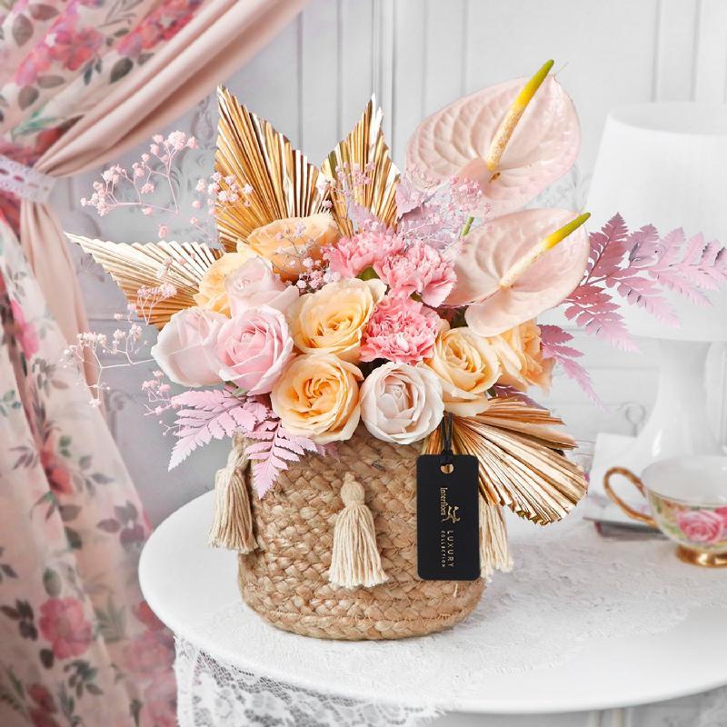 Bouquet de fleurs Peachy Melody