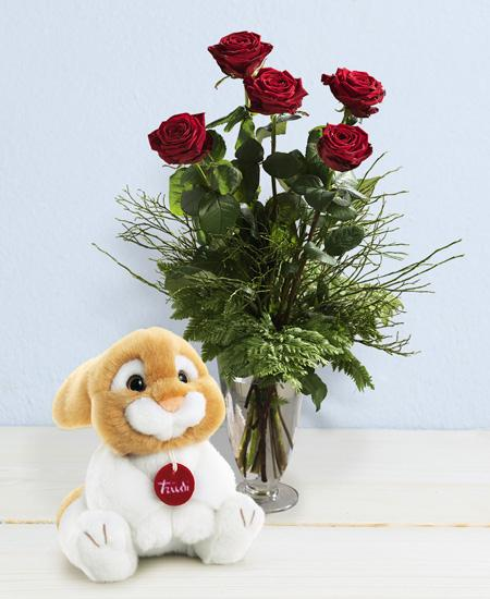 Bouquet de fleurs Oliviero in love