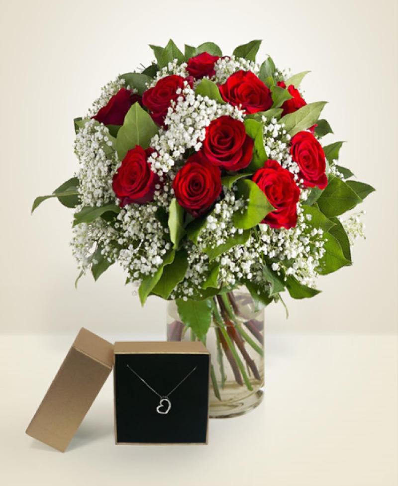 Bouquet de fleurs Cuore e Desideri