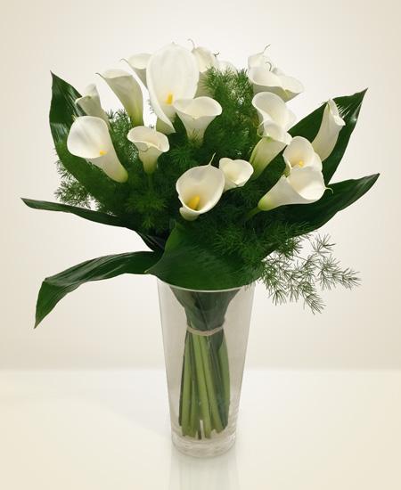 Bouquet de fleurs snow-white