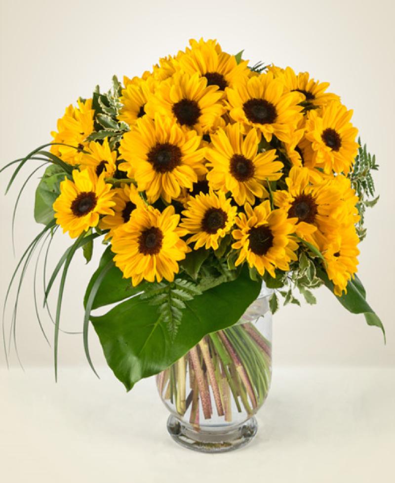 Bouquet de fleurs Girasoli