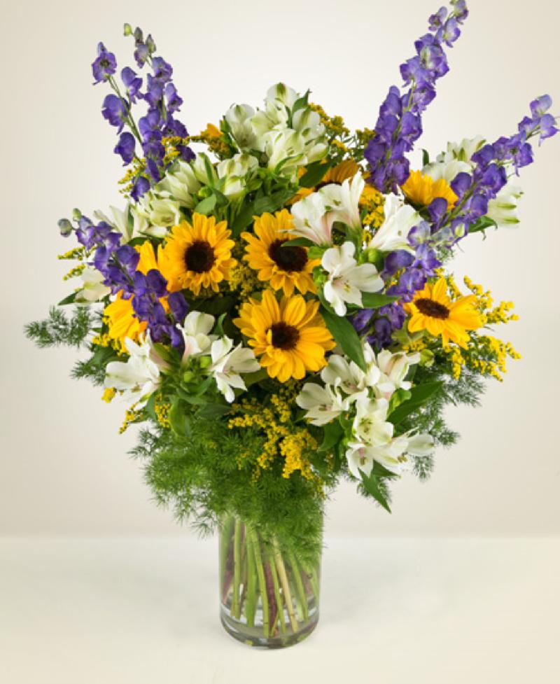 Bouquet de fleurs Aconitum