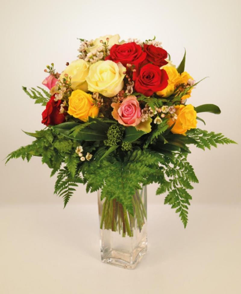 Bouquet de fleurs Fantasia di rose