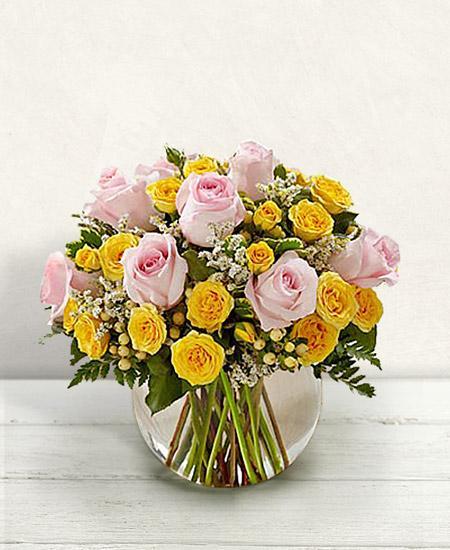 Bouquet de fleurs Delicata
