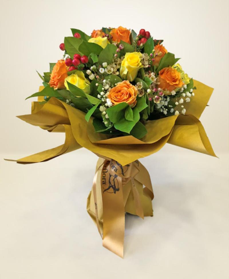 Bouquet de fleurs Simpatia