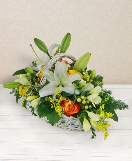 Bouquet de fleurs Sorriso