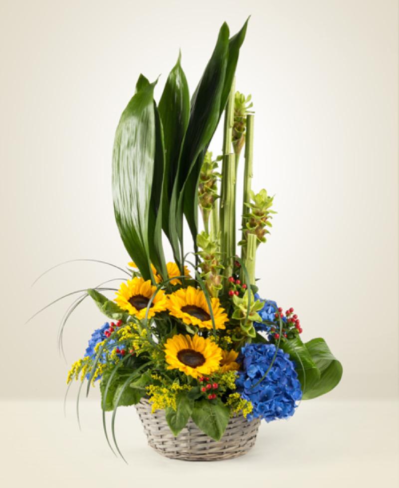 Bouquet de fleurs Airone