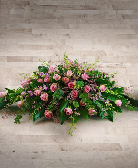 Bouquet de fleurs Cuscino con rose