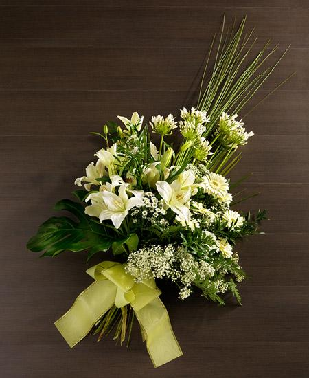 Bouquet de fleurs Riflessi bianchi