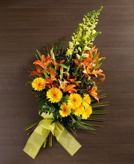 Bouquet de fleurs Fiori arancio