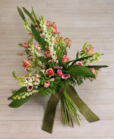 Bouquet de fleurs Rose e Lilium