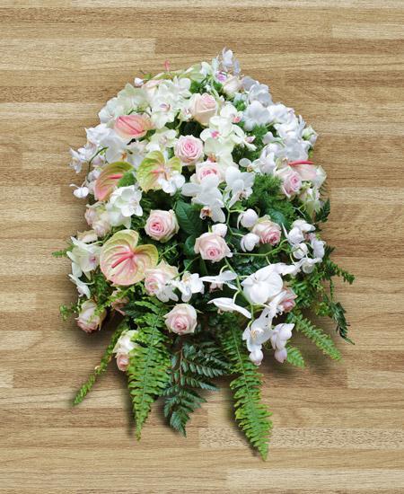 Bouquet de fleurs Cuscino di orchidee