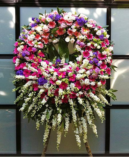 Bouquet de fleurs Corona fiori rosa