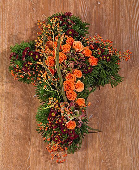 Bouquet de fleurs Croce floreale
