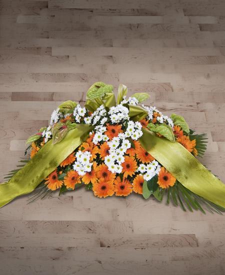 Bouquet de fleurs Cuscino funebre