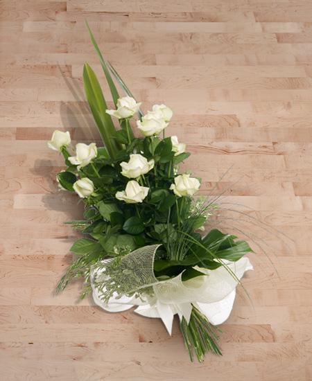 Bouquet de fleurs Rose bianche