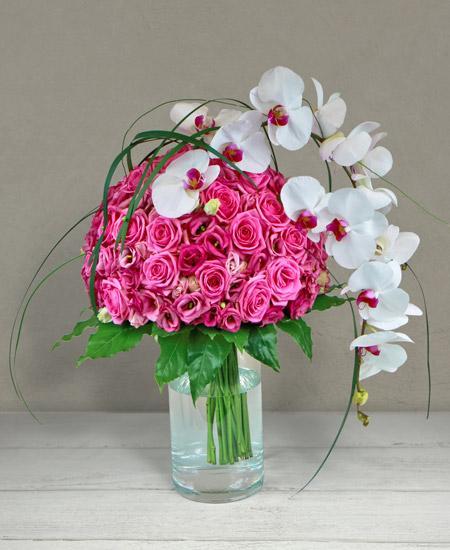Bouquet de fleurs Pissarro