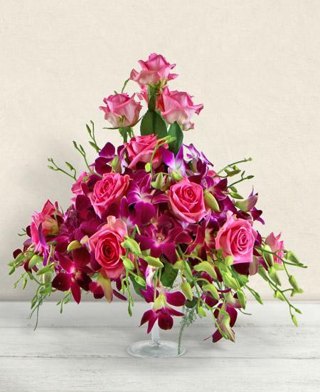 Bouquet de fleurs Chopin
