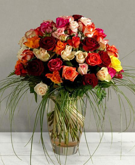 Bouquet de fleurs Rubens