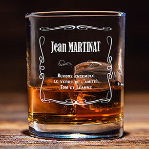 null Verre à whisky personnalisable Collection Hommes